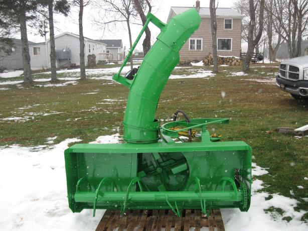 """60 """" Lucknow snowblower for utility tractor"""