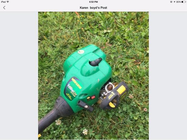Gas trimmer