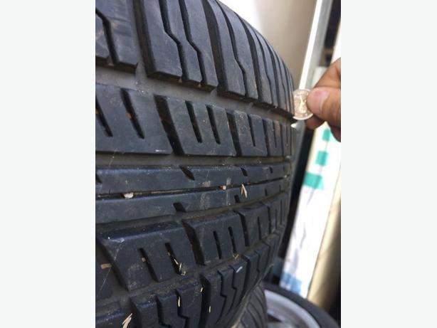 205/60r16 all season tires on rims