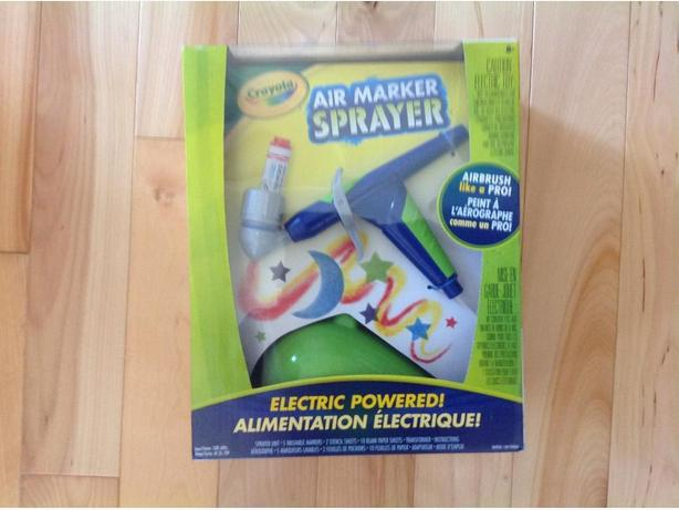 New: Electric Air Marker Sprayer