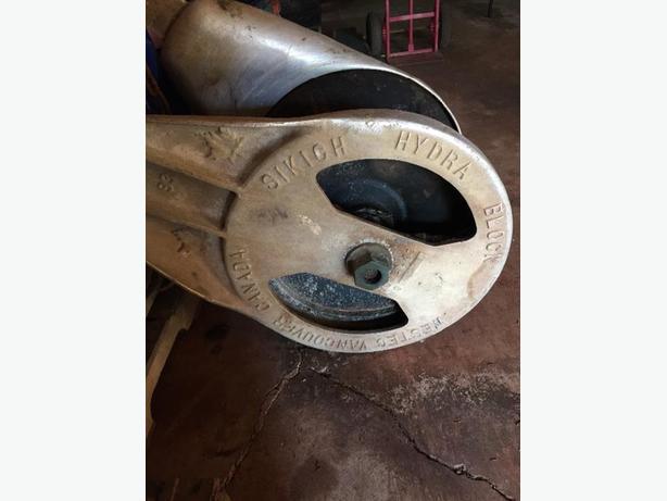 Hydraulic Power Block: Fisheries and Mussel Equipment
