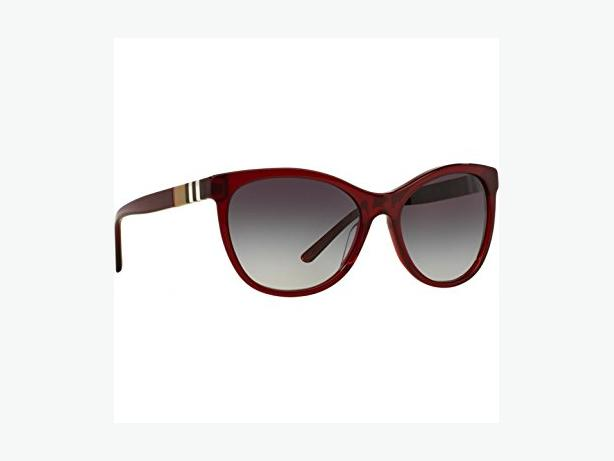 Brand New Burberry Bordeaux Burgundy BE4199 Check Sunglasses