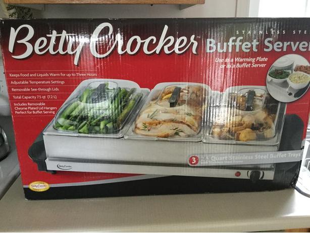 Betty Crocker buffet server