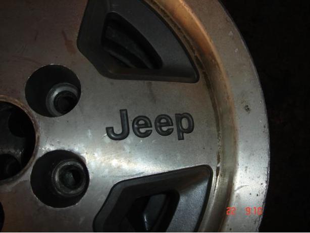 "Set of 4  15"" JEEP TJ or YJ Alloy Wheels"