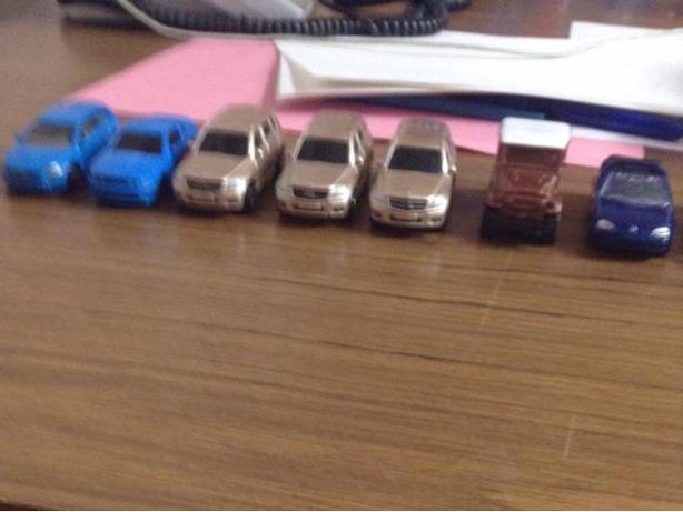 8 die cast vehicles need gone