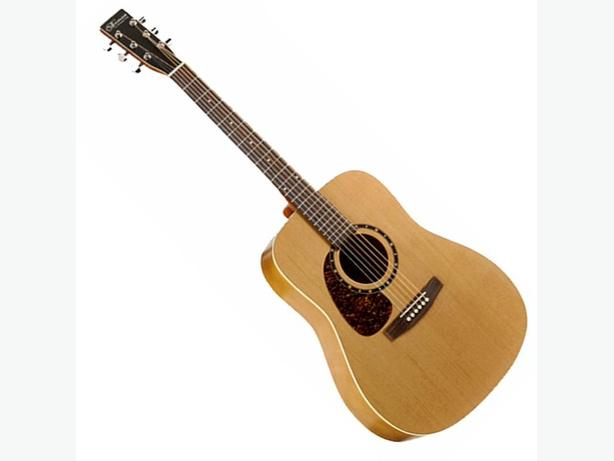 Left Handed Acoustic Guitar Norman B 18