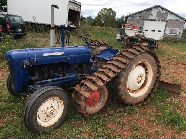 dexter tractor with half tracks