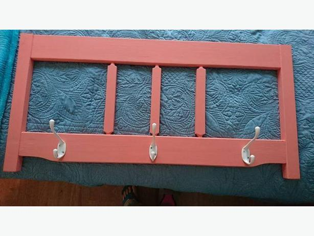 entry way bench with matching coat rack