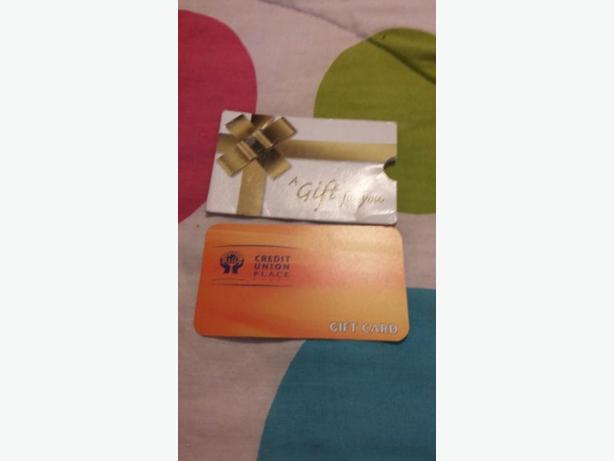 $27 Credit Union Place gift card