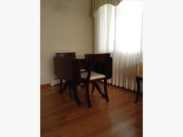 Strathroy Dining Room Table, Chairs and China Cabinet