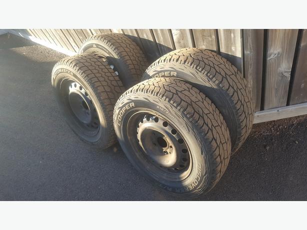 Winter Tires & Rims for Dodge Grand Caravan, 2008 up