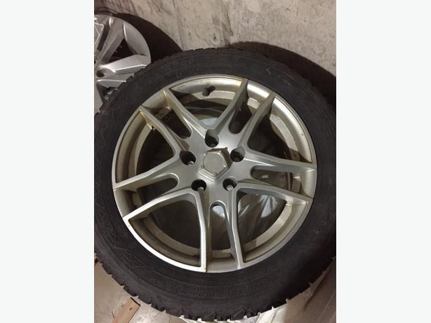 4 Winter Tires on Nice Rims